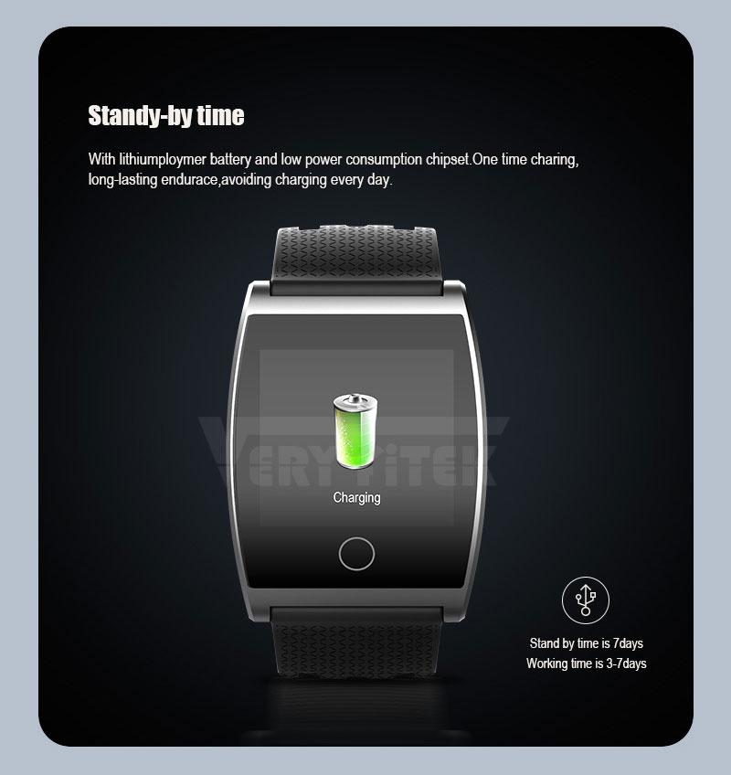 VERYFiTEK QS05 Smart Bracelet Watch Blood Pressure Oxygen Smart Band Heart Rate Monitor Wristband Pedometer Fitness Bracelets  (14)