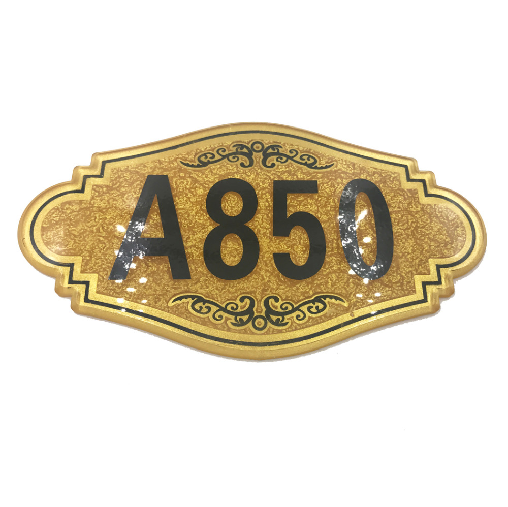 цены Door Sign, Custom-made,Apartment,House,Hotel door plate,number,Acrylic, decal number