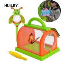 Bug Erfassen Kit mit Lupe Pinzette Bugs Welt Bug Insekten Käfig Box Outdoor Garten Park Camping Wissenschaft Spielzeug Kinder Frühling