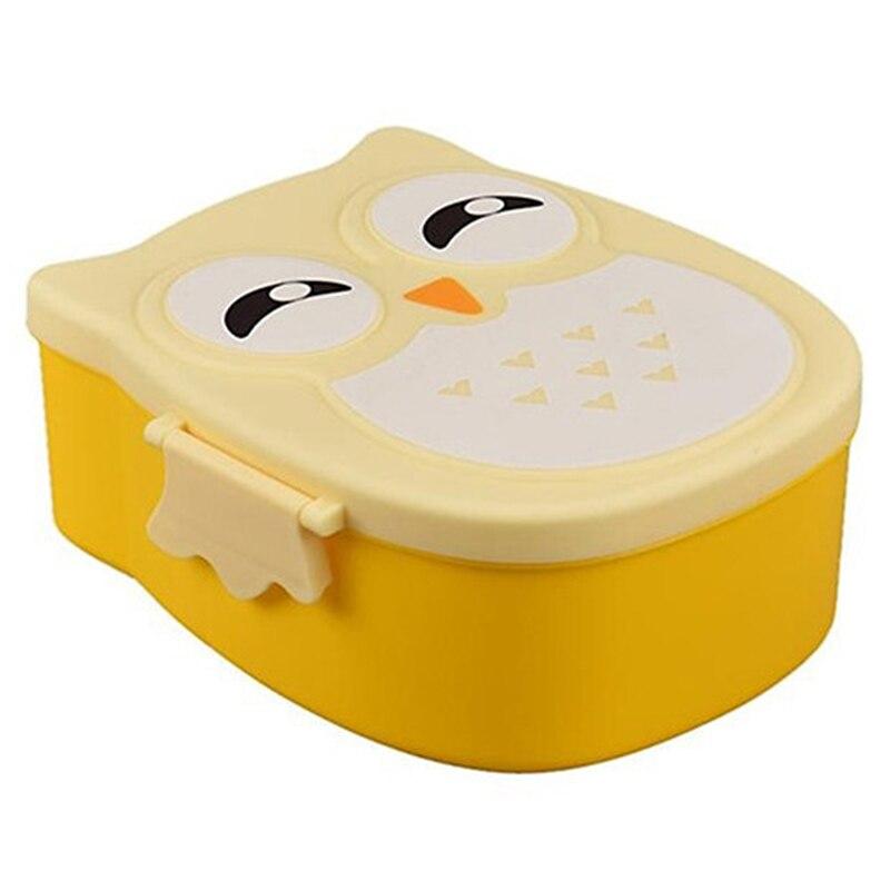 Милая сова Форма Bento Box Пластик Еда контейнер для ...