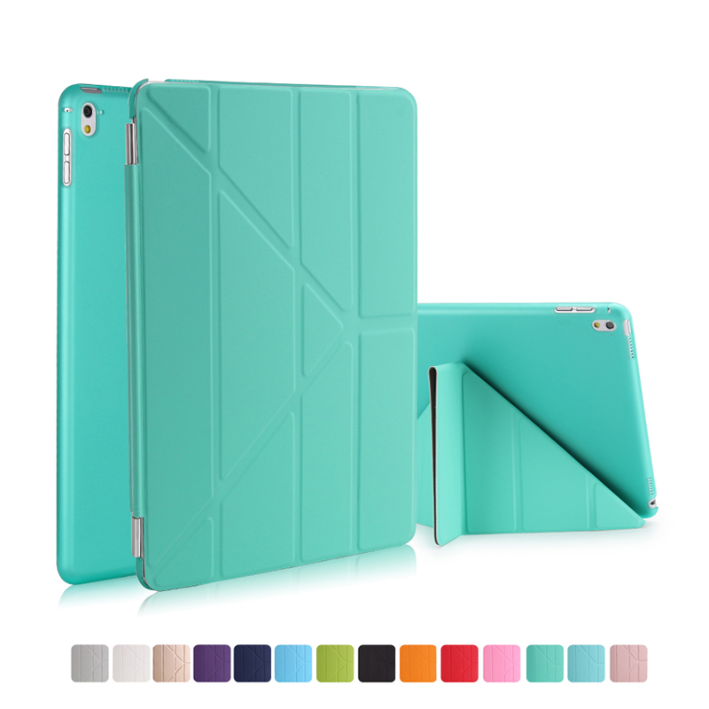 Case For Apple iPad Pro 9.7 inch Tablets Cover Transparent PC PU Leather Case For iPad Pro 9.7 2016 Smart Stand Flip Cases flip left and right stand pu leather case cover for blu vivo air