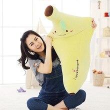 40-80cm Creative Soft Banana Plush Pillow Staffed Emoji Banana Cushion Boyfriend Pillow for Girls Valentine's Gift Plush Toy