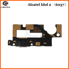For Alcatel One Touch Idol 2 OT6037 6037 6037Y flex USB Charger Port Connector Board Mic Charging Flex Cable стоимость