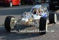 Baja 30.5CC 1:5 rígida mão 668 plus NGK 8 MM choque 305B + GT3B controle de rádio rc car Nylon gaiola de Metal