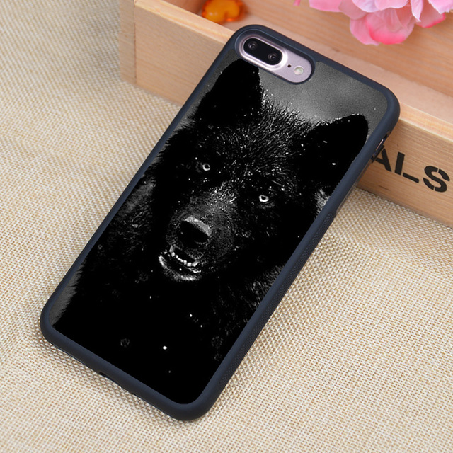 MaiYaCa Cool Black Wolf Luxury Phone Cases For iPhone 6 6s