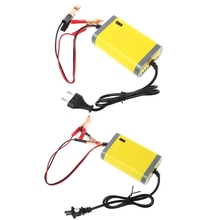 12V 2A Car Motorcycle Smart Automatic Battery Charger Maintainer Trickle EU/US Plug цена 2017
