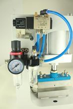 2SET 110V Pneumatic Bronzing Machine,Automatic Gilding Principle,Lace Processing,Barge Under Bit Machine Heating ZY-819-G