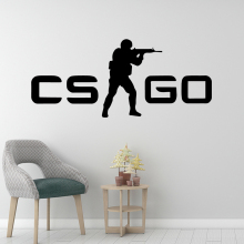 Free shipping cs game Decorative Sticker Waterproof Home Decor For Babys Rooms Party Wallpaper