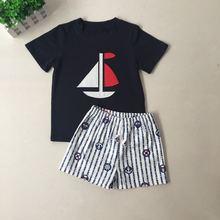 Новое поступление летняя одежда puresun для маленьких мальчиков