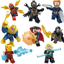 Legoing Marvel Super Heroes Figures Deadpool Wonder Woman Guardians of the Galaxy Batman Blocks Toys Legoings Avengers Figure(China)