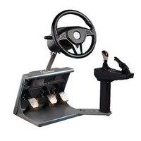 Игровой руль Обучение вождение автомобиля обучение машина, вождение автомобиля симулятор умная форма моделирование автомобиля USB подключе