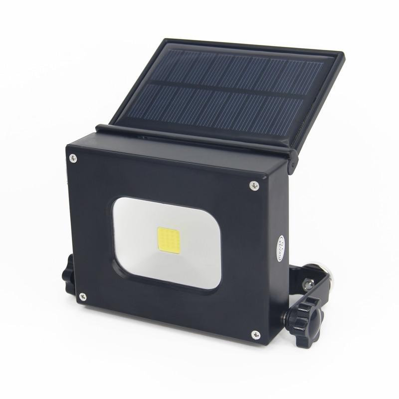 Portable Light Panels : W solar panel led flood light portable lantern