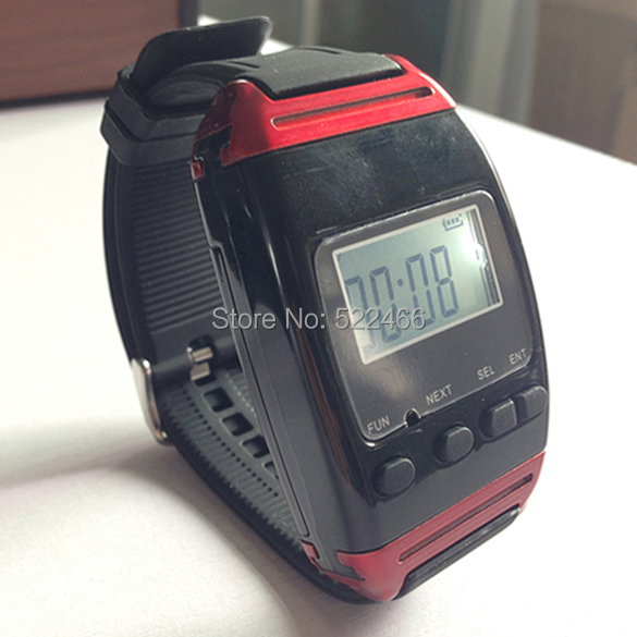 Y-650 Alphanumeric pager wrist watch receiver