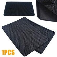 1PC Foldable Cat Litter Mat Trapper Pad Pet Rug EVA Double-Layer Foam Rubber Double 5 Colors XS/S/M/L