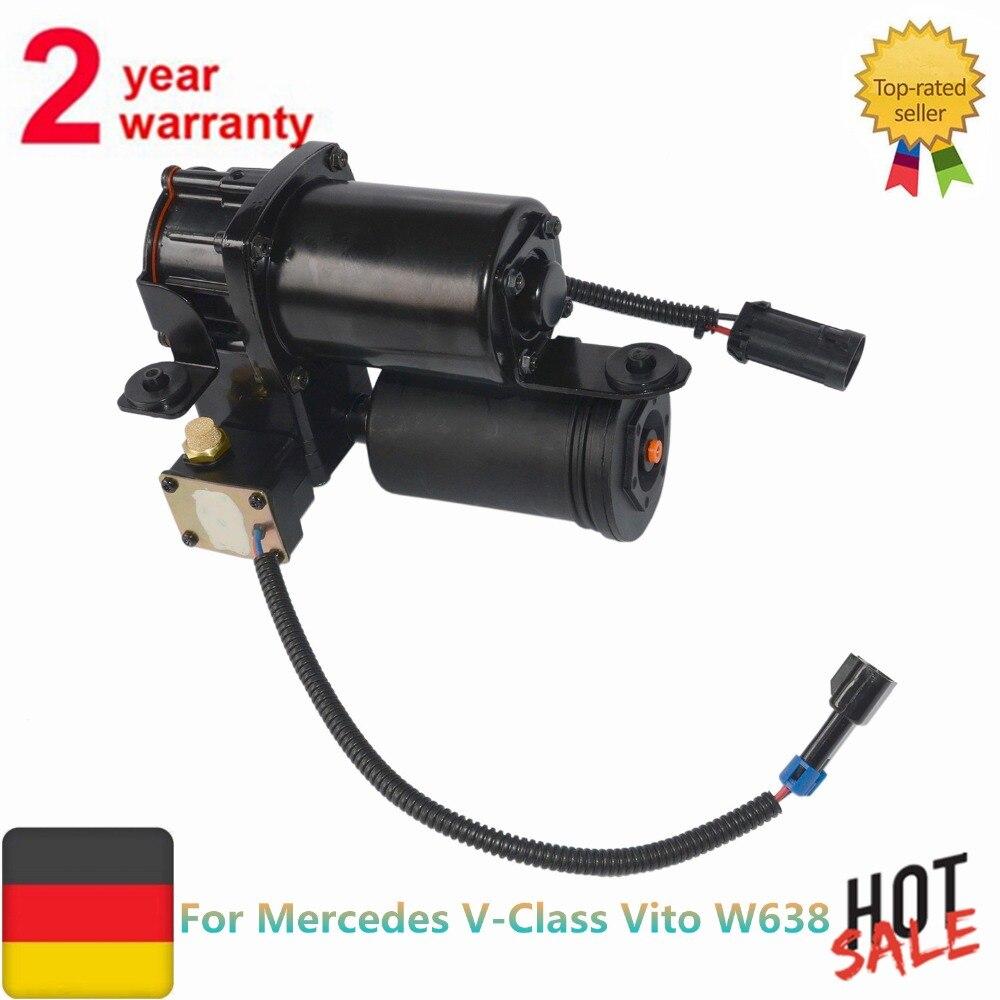 Suspension pneumatique Compresseur Pour Mercedes Vito W638 W638-2 V-Classe A6383280402 6383280302 1996 1997 1998 1999 2000 2001 2002 2003