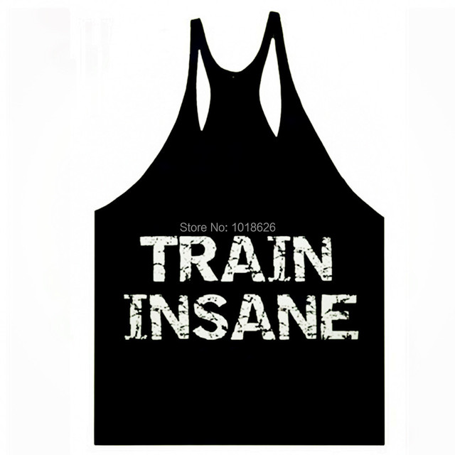 2014 new mens big muslce gym vest with slogan logos fitness bodybuilding workout