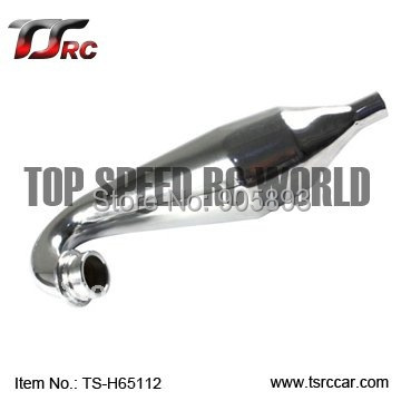 Free shipping!  main alloy tuned pipe For  Baja 5B Parts(TS-H65112)wholesale and retail cnc main chassis ts h65001 orange available for baja metal parts baja parts wholesale and retail