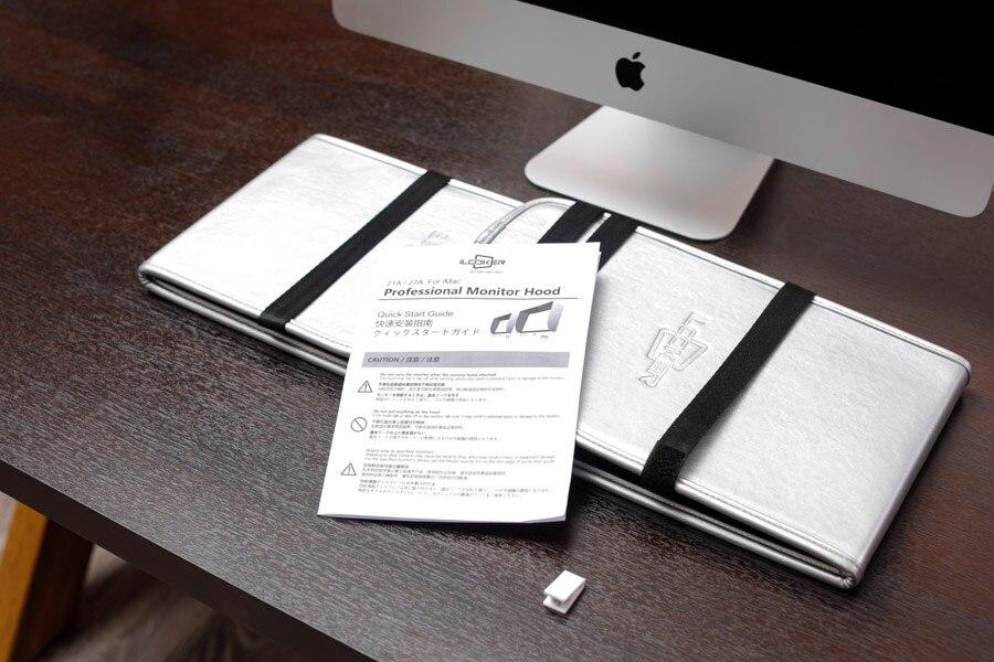 iLooker 27A 27 pulgadas iMac y 27 pulgadas Monitor Hood Sunshade - Periféricos de la computadora - foto 6