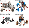 Bela STAR WARS Royal Army transport aircraft Clone troops Shadow trooper building blocks bricks toys Compatible With Legeod