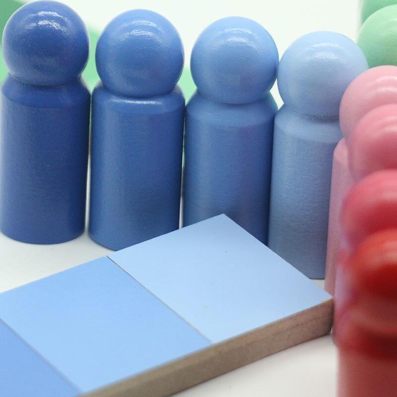 Montessori jouet enfants couleur ressemblance tri tâche apprentissage éducatif préscolaire début sensoriel Educativo jouets B2166T - 4