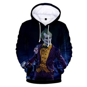 Image 5 - haha joker 3D Print Sweatshirt Hoodies Men and women Hip Hop Funny Autumn Streetwear Hoodies Sweatshirt For Couples Clothes