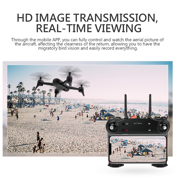 WiFi Drone with 4K Optical Flow Dual Camera
