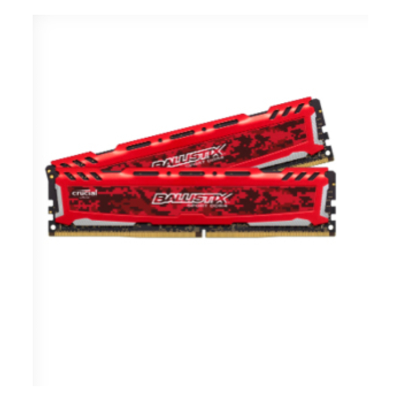 CRUCIAL 8 GB (2x4 GB) KIT DDR4 2400MT/SPC4-19200 MEM CL16 SR X8 UNBUFF DIMM 288PIN 512 M x 64