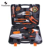 Prostormer 12 piece garden tool set home planting family sprinkler flower gardening tool alloy steel