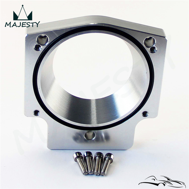 102MM manifold adapter plate for 102MM THROTTLE BODY GM GEN III LS1 LS2 LS6  LSX LS4-in Valve Train from Automobiles & Motorcycles on Aliexpress com |