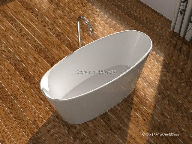 OCEAN SHIPPING FREE solid surface bathtub man made stone tub Quartz ...
