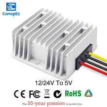 DC 12/24V to DC 5V Step Down Power Converter 20A advantages mean well mhb100 24s05 5v 20a meanwell mhb100 5v 100w dc dc half brick regulated single output converter