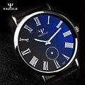 Yazole reloj de cuarzo 2017 hombres superiores de la marca de lujo luminoso reloj masculino reloj de los hombres relojes de cuarzo-reloj relog hodinky kol saati