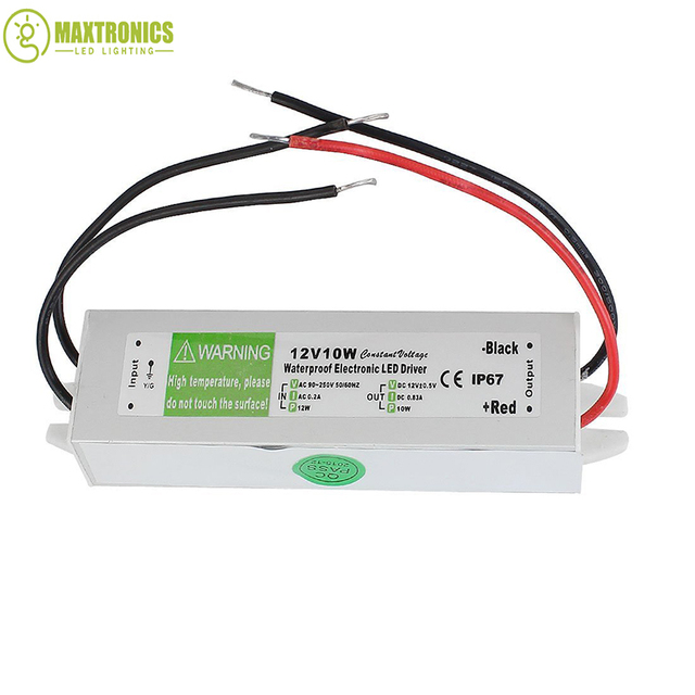 wholesale price 12v 10w waterproof electronic led driver transformer