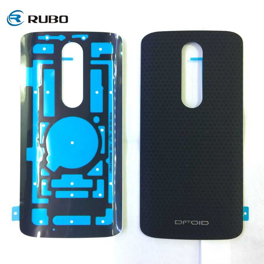 sneakers for cheap 5e138 cd0b2 Battery Cover for Moto X Force Back Housing Door Case for Motorola Droid  Turbo 2 XT1585 XT1580 Replacement Spare Parts