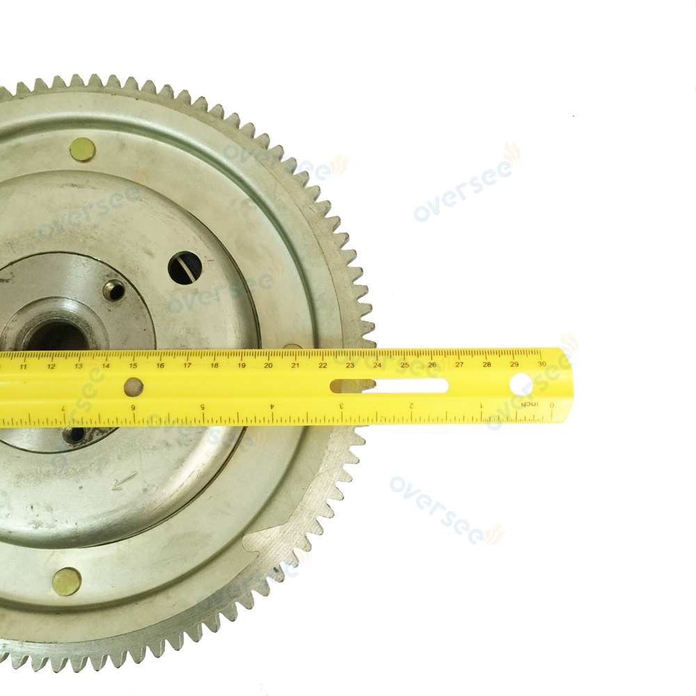 OVERSEE 60HP 70HP Flywheel Rotor 6K5-85550-A0-00 For Fitting Parsu Yamaha Outboard Engine 60HP 6K5  2