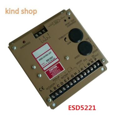 Governor AC Diesel Engine Speed Controller ESD5221