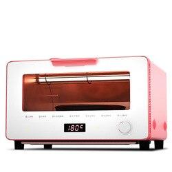 Pokrętło wielofunkcyjne piekarnik elektryczny domu inteligentny do pieczenia Mini mały piekarnik parowy KR 10N 16D w Piekarniki od AGD na