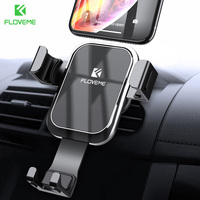 FLOVEME Автомобильный держатель для телефона новый для Redmi Note 7 5 4 Гравитация автоблокировка Vent держатель телефона для huawei mate 20 Pro 20 Lite 20