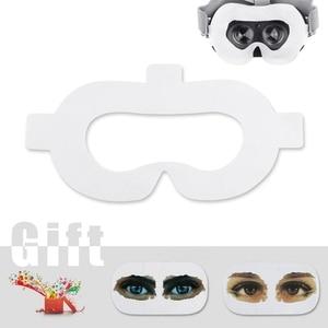 Image 3 - Amvr Vr الوجه غطاء مراتب مضاد للماء عالي الجودة غير المنسوجة النسيج المتاح النظافة قناع بالعصي السحرية ل Oculus الذهاب (50 قطعة)