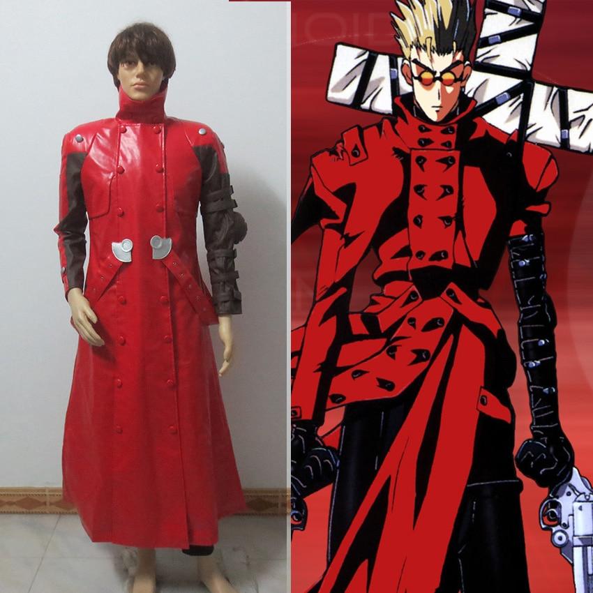 Red Trigun Vash The Stampede Cosplay Costume