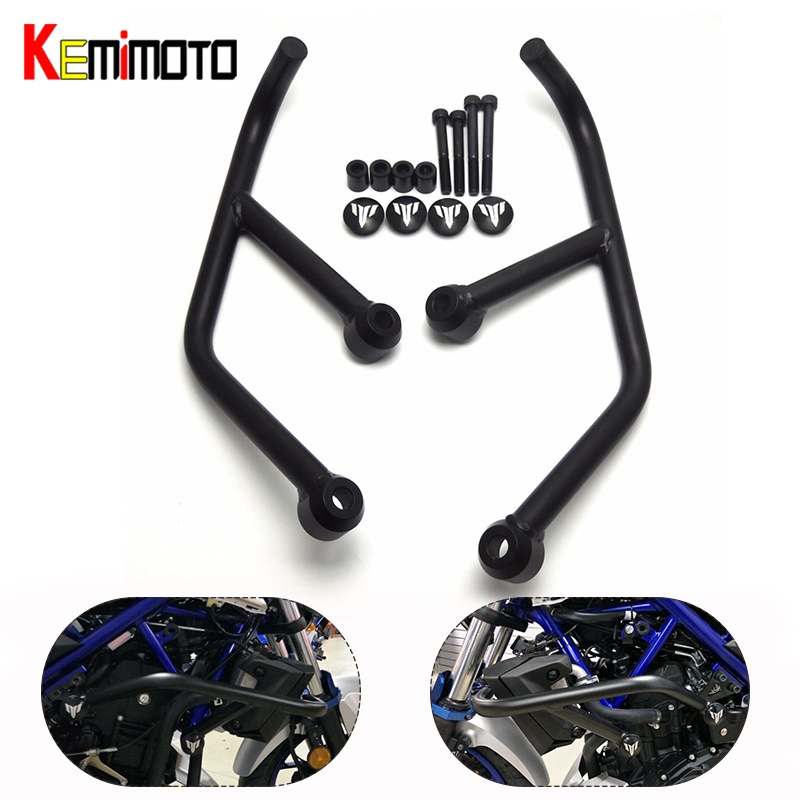 KEMiMOTO Motorcycle Accessories For Yamaha MT-03 MT-25 MT03 MT25 MT 25 2015 2016 2017 Engine Protetive Guard Crash Bar Protector for yamaha mt 03 2015 2016 mt 25 2015 2016 mobile phone navigation bracket page 1