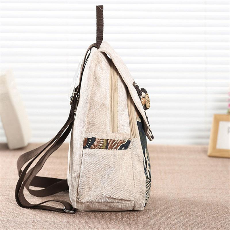 National Female Backpack Retro