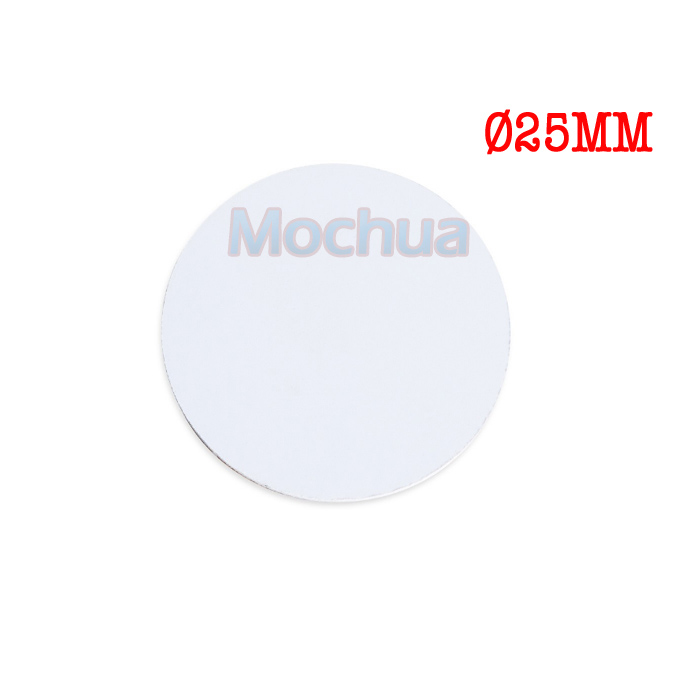 NTAG215 Disc Tag PVC With NFC Round Tag For All NFC Enabled Device-20pcs/lot