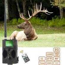 HC300M 12MP Night Vision MMS Scouting Wildlife Camera Photo Perangkap kamera berburu permainan HC 300M