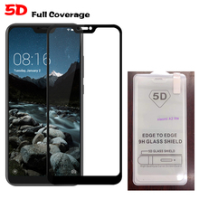Global Version Xiaomi Mi A2 Lite A2Lite Tempered Glass 9H 5D Explosion-proof Screen Protector Film For Xiaomi Mi A2 Lite телефон xiaomi mi a2 lite 4gb 64gb золотой global version