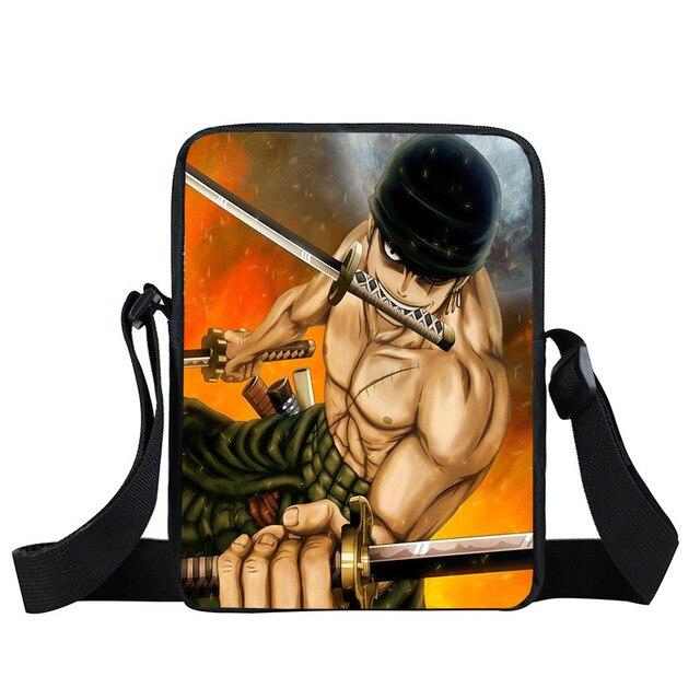 Anime One Piece Handbags Crossbody Bags