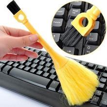 Taşınabilir Mini Fırça Klavye masa üstü Kitaplık Toz Kaldırmak Süpürge Temizleme Aracı Klavye Temizleme fırçası