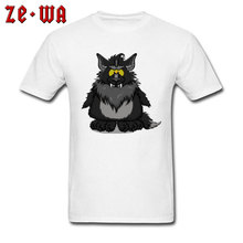 Classic Image T-Shirts Black Nesteia Wolf Coyote Graphic Funny 100% Cotton T Shirts Customized Tee Great High Quality