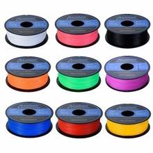 9 Colores Diámetro 1.75mm Filamentos ABS PLA Filamento impresora 3d de Alta Calidad de ácido Poliláctico 1 kg Impresora 3D Pluma Filamento de impresión