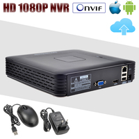 New 4Ch 8Ch Mini NVR Full HD P2P Standalone CCTV NVR 1920 1080P ONVIF For 1080P